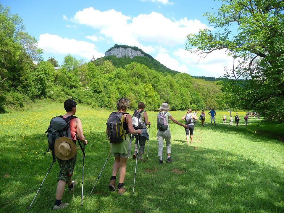 Het prachtige, groene Montagnes de Jura