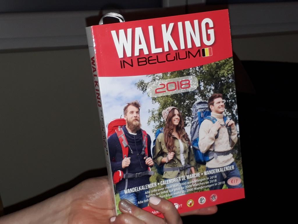 Walking in Belgium, de meest complete wandelkalender