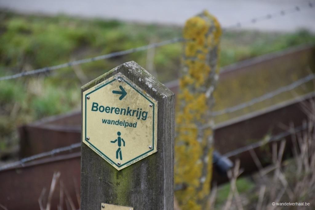 Boerenkrijgwandelroute: een verhaal van Brigands en Franse sansculotten