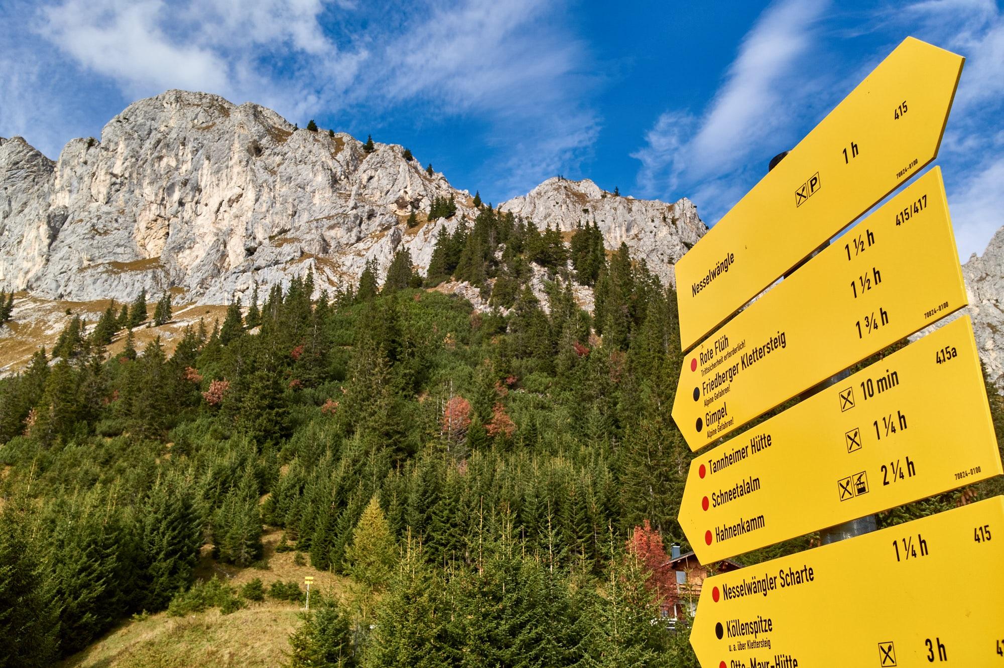 Nieuwe wandelroutes in de Tiroler bergwereld