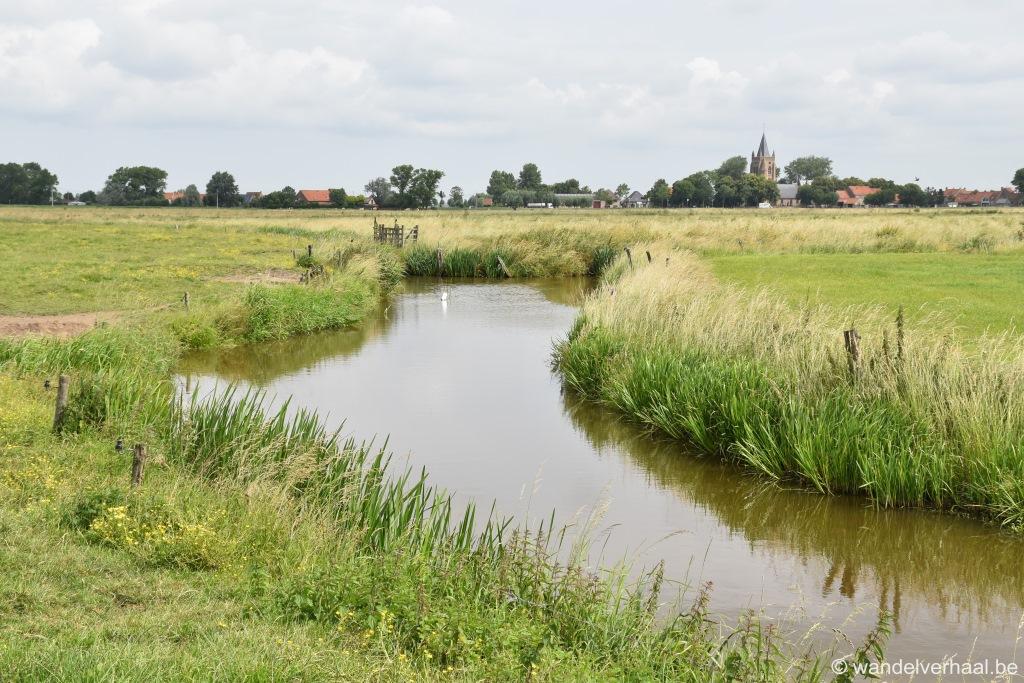 Zannekin wandelroute: een verhaal van Zannekin tot Oudlandpolders